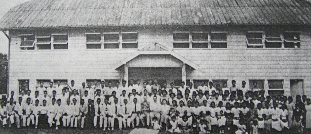 First convention of the Philippine District Council of the Assemblies of God (PDCAG), March 21-27, 1940, Villasis, Pangasinan